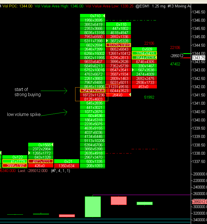 Order Flow Advice - Market Profile - Traders Laboratory